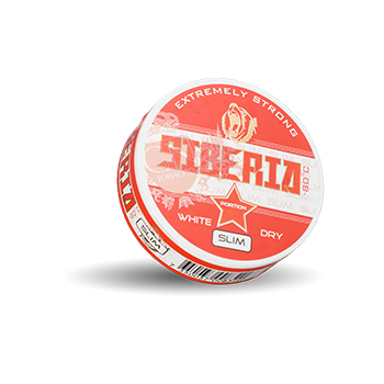 Siberia -80°C Slim Extremely Strong White Dry Portion 13g