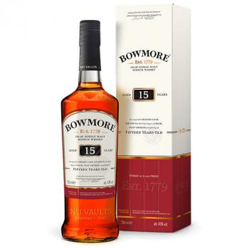 Bowmore 15 Years Single Malt Whisky 70cl