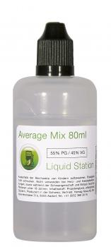 Liquid Station Average Mix 80 ml - 55PG/45VG