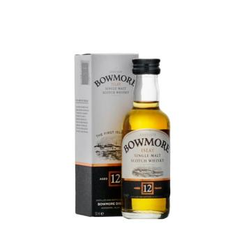 Bowmore 12 Years Single Malt Whisky 5cl