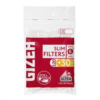 Gizeh Slim Filter 150 Stk